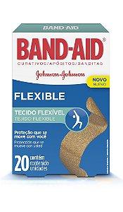 Band Aid Curativo Flexible - 20 Unidades