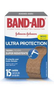 Band Aid Curativo Ultra Protection - 15 Unidades