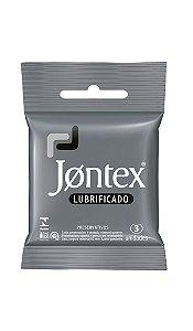 Preservativo Jontex Lubrificado - 3 Unidades