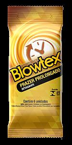 Preservativo Blowtex Prazer Prolongado Efeito Retardante - 6 Unidades