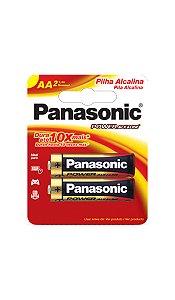 Panasonic Pilha Alcalina Pequena AA -  2 Unidades