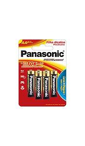 Panasonic Pilha Alcalina Pequena AA -  6 Unidades