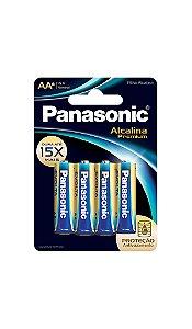Panasonic Pilha Alcalina Premium AA - 6 Unidades