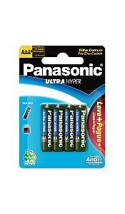Panasonic Pilha Comum Palito AAA  - 8 Unidades
