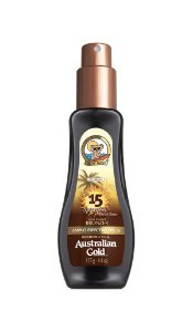 Australian Gold Spray Gel FPS 15 Instant Bronzer - 125ml