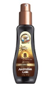 Australian Gold Spray Gel FPS 8 Instant Bronzer - 125ml