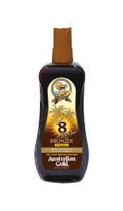 Australian Gold Spray Gel FPS 8 Instant Bronzer - 237ml