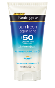 Sun Fresh Aqualight - FPS 50 120ml