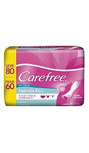 Protetor Diário Carefree Flexi - Leve 80 Pague 60