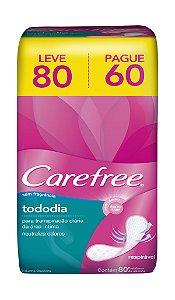 Protetor Diário Carefree S/ Perfume - Leve 80 Pague Menos