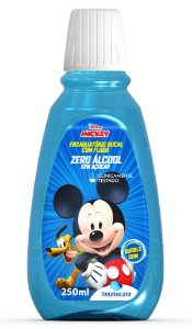 Enxaguatório Bucal Neutrocare Mickey Bubble Gum -  250mL