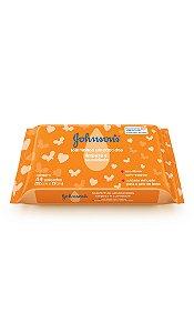 Johnson's Baby Lenços Umedecidos Limpeza e Suavidade - 44 Unidades