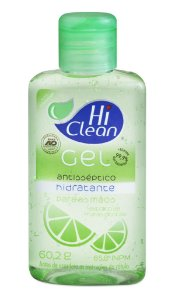 Álcool Gel Hi Clean Frutas Cítricas - 70ml