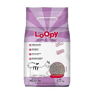 Areia Higiênica Loopy 4kg