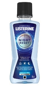 Enxaguatório Bucal Listerine Night Reset  - 200mL - VENC. 30/11