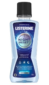 Enxaguatório Bucal Listerine Night Reset - 400mL