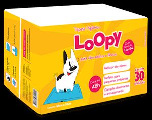 Tapete Higiênico Loopy com 30un 50x60cm