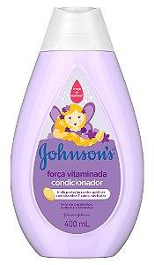 Johnson's Baby Condicionador Força Vitaminada - 400 mL