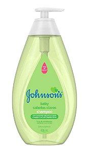 Johnson's Baby Shampoo Infantil Cabelos Claros - 400 mL