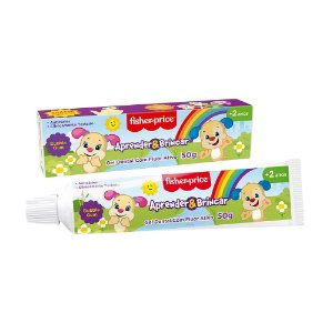 Gel Dental Fisher Price Com Flúor Bubble Gum – 50g
