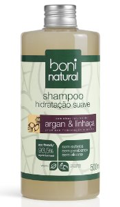 Shampoo Argan e Linhaça Boni Natural - 500ml