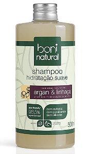 Shampoo Argan e Linhaça Boni Natural - 500ml