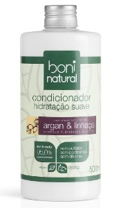Condicionador Argan e Linhaça Boni Natural - 500ml