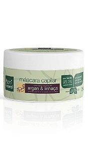 Máscara Capilar Argan e Linhaça Boni Natural - 250g