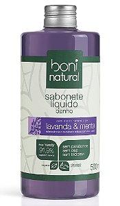 Sabonete Líquido Lavanda e Menta Boni Natural - 500ml