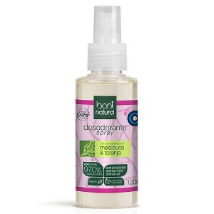 Desodorante Spray Melaleuca e Toranja Boni Natural - 120ml