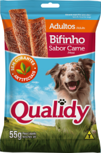 Qualidy Bifinho Sabor Carne 55g