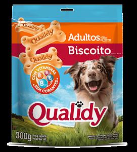 Qualidy Biscoito Para Cães Adultos 300g