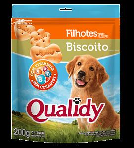 Qualidy Biscoito Para Cães Filhotes 200g