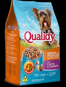 Qualidy Premium Cães Adultos Pequeno Porte Sabor Carne 3kg