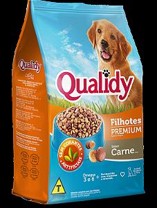 Qualidy Premium Cães Filhotes Sabor Carne  900g