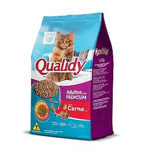 Qualidy Premium Gatos Adultos Sabor Carne 500g