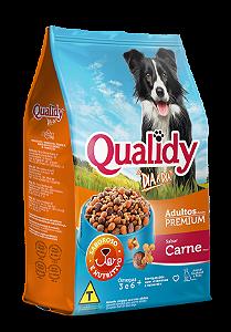 Qualidy Dia a Dia Cães Adultos Sabor Carne 25kg