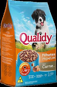 Qualidy Dia a Dia Cães Filhotes Sabor Carne 25kg