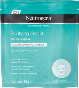 Purifying Boost Máscara Hydrogel Neutrogena 30g