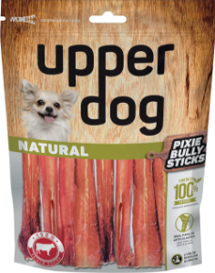 Upper Dog Natural Pixie Bully Sticks