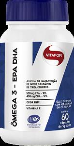 Ômega 3 EPA DHA 60 cápsulas Vitafor