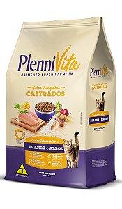 Plennivita Gatos Castrados Frango e Arroz 1kg