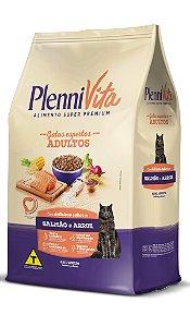 Plennivita Gatos Adultos Salmão e Arroz 1kg