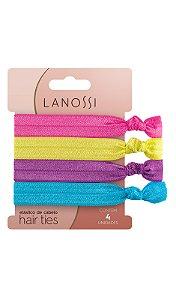 Conjunto de elásticos Lanossi Neon com 4un