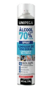 Álcool 70% Spray 400ml/290g