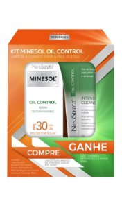 Kit Neostrata Minesol Oil Control Sérum FPS30 + Gel Intensive Cleanser
