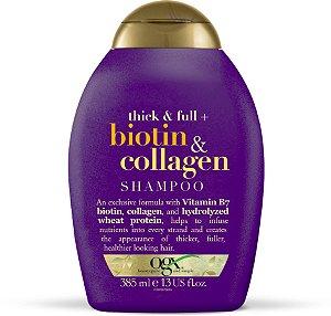 Shampoo Ogx Biotin & Collagen - 385mL