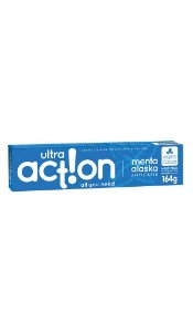 Ultra Action Creme Dental Vegano Menta Alaska 164g