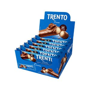 Trento Wafer Creme Display Com 16un