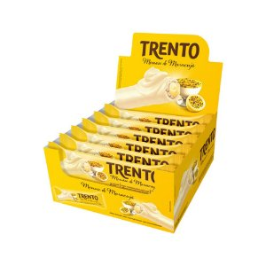 Trento Wafer Mousse De Maracujá Display Com 16un